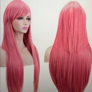 Pretty in pink wig